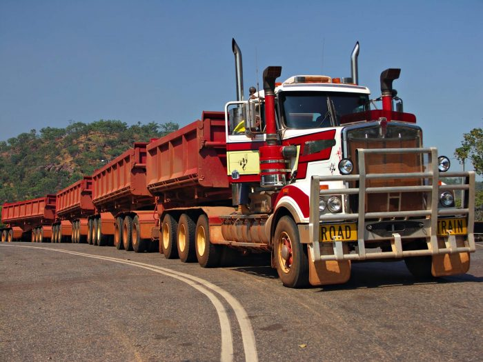Road train in NSW
